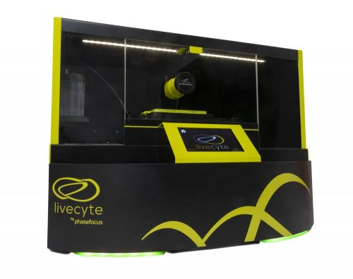 First glimpse of New Livecyte 2 – live cell imaging system from Phasefocus