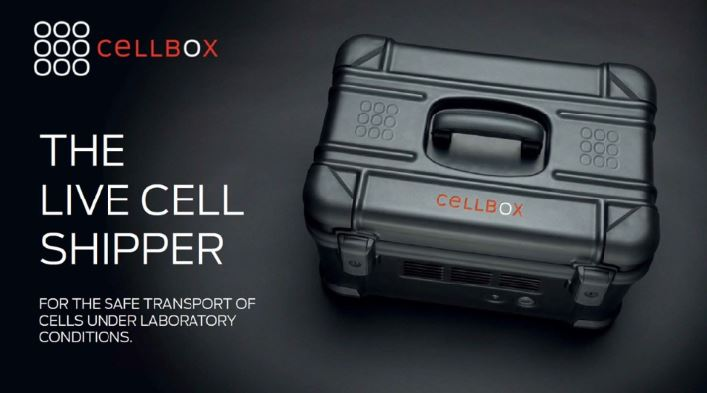 CELLBOX ALLOWS SHIPMENT OF LIVE CELLS