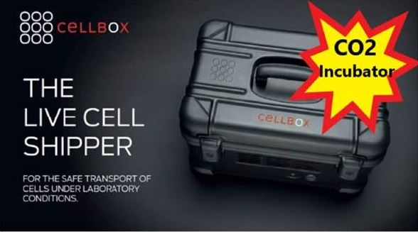 CELLBOX Live cell shipper now in Australia & NZ