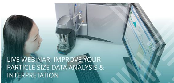 Particle size data analysis & applications webinars on demand