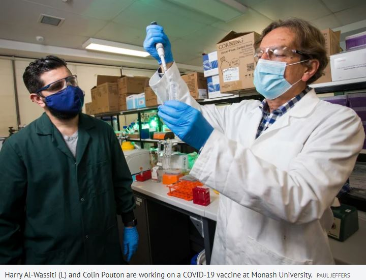 Scientists and government pushing for ways to make mRNA vaccines here